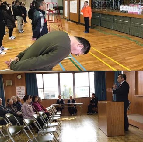 会式に参加しました。 その後、青山周平六ツ美北部後援会国政報告会にて県政報告のお時間を頂きました。